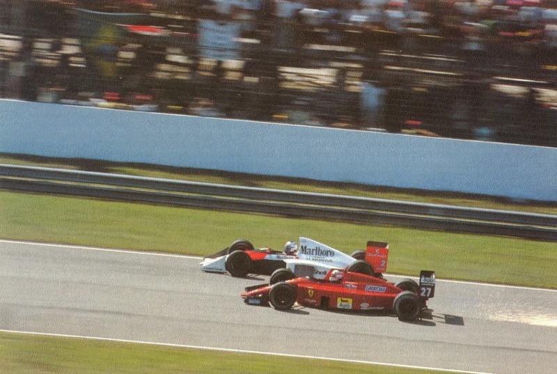 1989 год. Триумфальный дебют Мэнселла в Ferrari