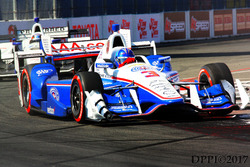 Helio Castroneves leads J.R. Hildebrand