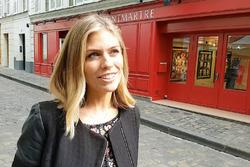 Nicki Shields à Paris