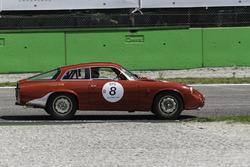 #8 Xavier Galant, Olivier Tancogne - Alfa Romeo Giulietta 1600SZ Coda Tronca 1962