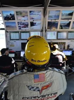 Corvette mission control - Petit Le Mans