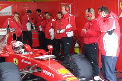 Vallelunga Ferrari Drive Accademy Test 2012
