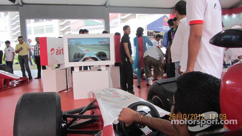 The F1 simulator!