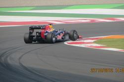 Webber at turn 1