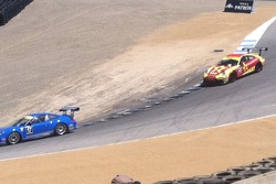 Brett chases in the corkscrew