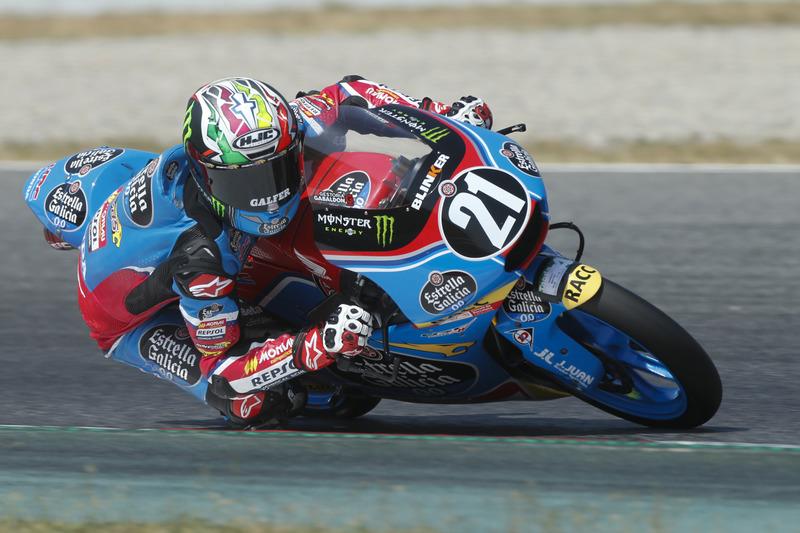 Alonso López Estrella Galicia Moto3
