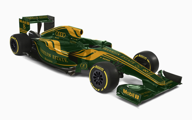 Franklin Estate F1 Livery