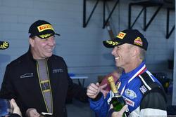Steve Hill and Rob Blake Post Enduro Race @ Sebring