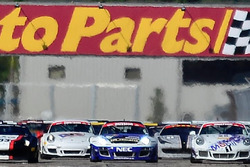R. Blake on Pole: The 35 Car Field Takes The Green Flag @ Sebring / Round 1 of International GT
