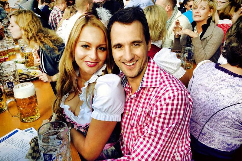 Nicoletta Frentzen and Sven Heidfeld