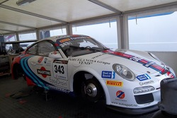 Porsche in the paddock