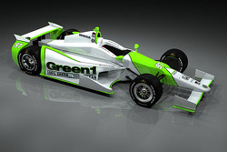 Bryan Herta Autsosports Green1 Car