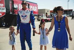 Justin Wilson and family