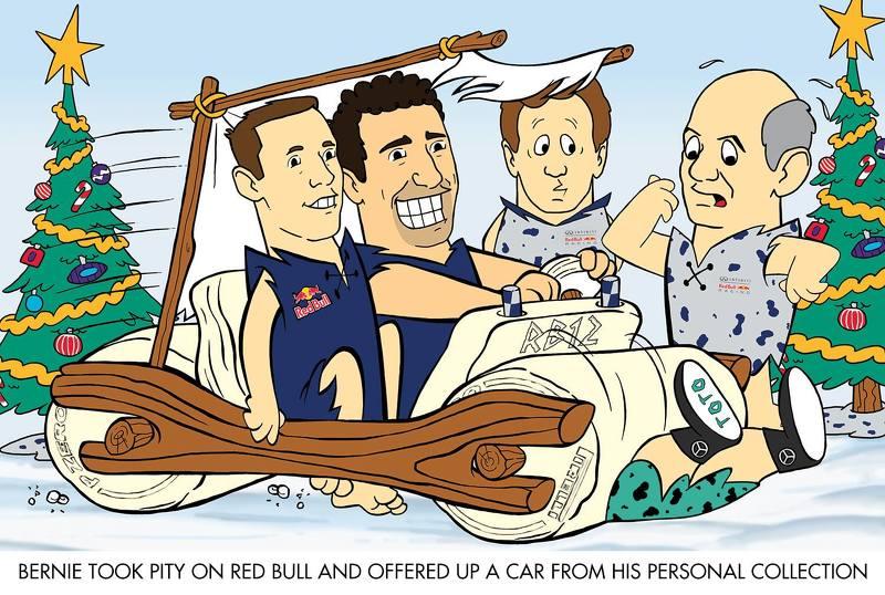 Carte de Noël 2015 de Red Bull