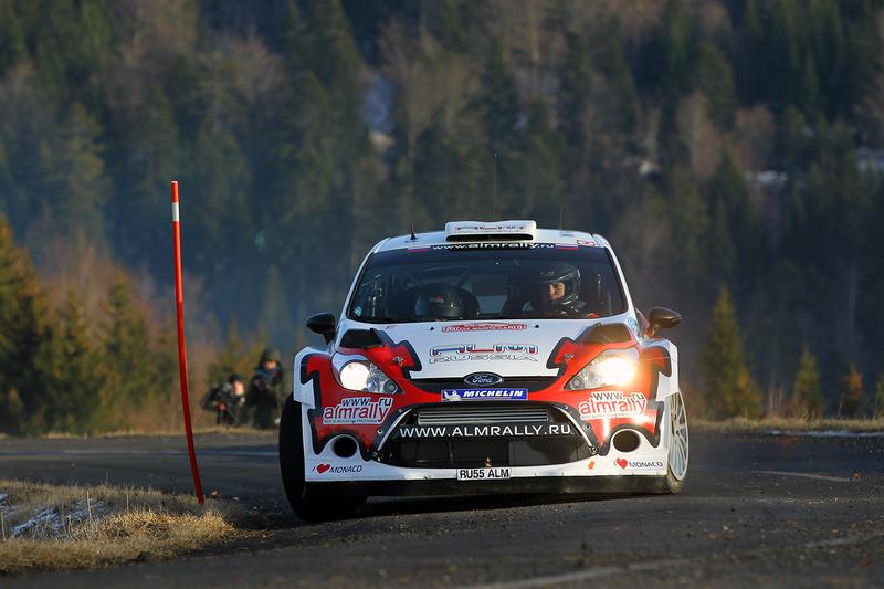 2012 год. Евгений Новиков и Дени Жиродэ, Ford Fiesta RS WRC