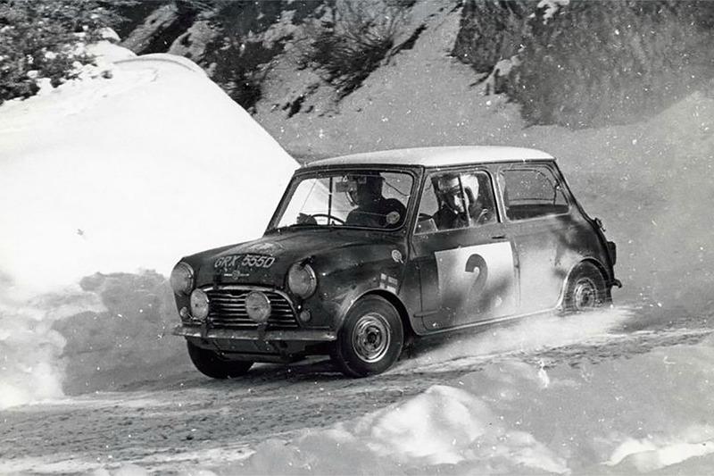 Тимо Мякинен и Пол Истер, BMC Mini Cooper S, Ралли Монте-Карло 1966 года