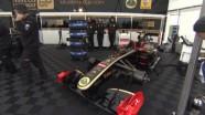 Lotus Renault GP - Silverstone Track & Garage