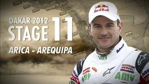 Dakar 2012 - Marc Coma - Stage 11