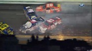 Crash During Lap 54 - Budweiser Shootout - Daytona - 02/18/2012
