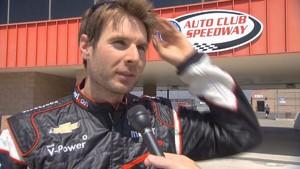 2012 - IndyCar - Fontana - Test