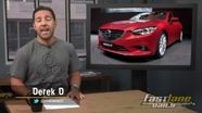 2012 Paris Auto Show, Mitsubishi Outlander PHEV, 2014 Mazda 6, F1, & More!