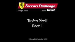 Finali Mondiali Ferrari 2012 - Ferrari Challenge EU/NA/APAC - Race-1 Trofeo Pirelli