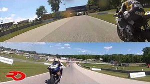 Four Rider Battle at Road America
