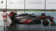Vodafone McLaren Mercedes MP4-28 car reveal LIVE - Highlights