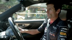 Mark Webber before Australian GP
