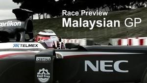 Race Preview - 2013 Malaysian GP - Sauber F1 Team