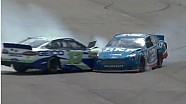 Ambrose hits Mears and Hornish Jr.