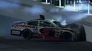 Kasey Kahne crashes into the wall | Coke Zero 400, Daytona 2013