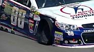 NASCAR Dale Earnhardt Jr. hits the wall   Michigan International Speedway (2013)