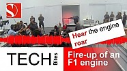 Tech Bites: Fire-up of an F1 engine - Sauber F1 Team