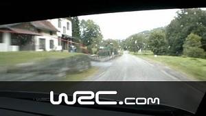 Onboard Robert Kubica @ SS12/ Rallye de France-Alsace 2013