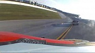 Corr spins after contact from Dillon | Talladega Superspeedway (2013)