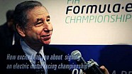 Jean Todt's views on Formula E