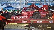 Memo Gidley and Matteo Malucelli Crash - Rolex 24 at Daytona 2014 - TUDOR Championship