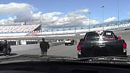 Truck Crashes and Loses Tire @ Las Vegas Motor Speedway Charity Event