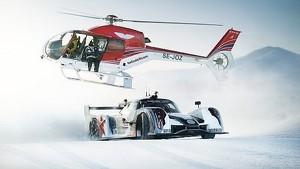 Supercar Drifting Uphill in Snow - Jon Olsson's Rebellion R2K