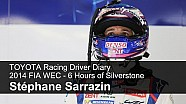 TOYOTA Racing Driver Diary - Stéphane Sarrazin, FIA WEC Silverstone 2014