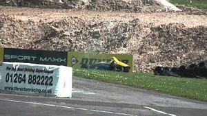 HUGE Formula Ford Crash & Flip - Thruxton