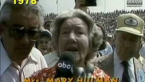 Mary F. Hulman's Starting Commands at the Indianapolis 500 (All 18 years)