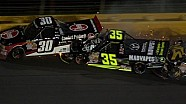 Mingus Drives Under Hornaday in Heavy Wreck - 2014 NASCAR CWTS at Charlotte