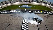 Final Laps: Sam Hornish Jr. wins at Iowa Speedway