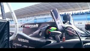 The Ligier JS P2 on track!