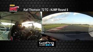 NJMP 2014 - Karl Thomson On Board Highlights of Round 5 TC