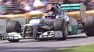 Formula 1 Highlights | Festival of Speed 2014