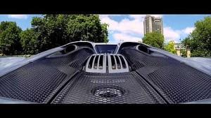 Porsche 918 Spyder: first electric drive through London