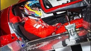 Fernando Alonso testet einen Ferrari 512 S - Le Mans 2014